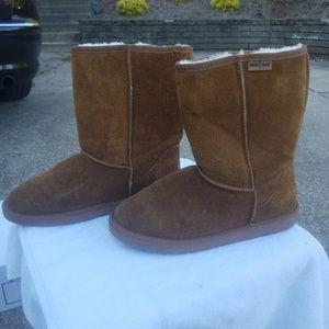 Minnetonka Olympia Short Boots Size 10